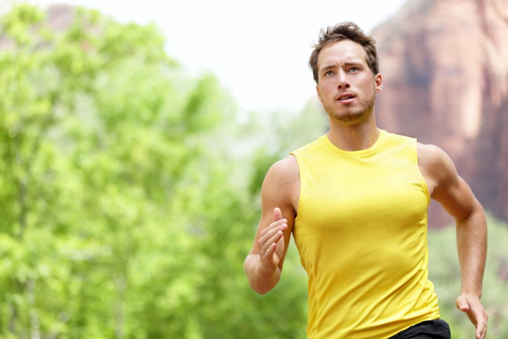 man running to sports chiropractic treatment in San Antonio, TX